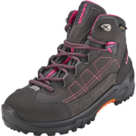Lowa Approach GTX Mid Chaussures Enfant, anthracite/berry